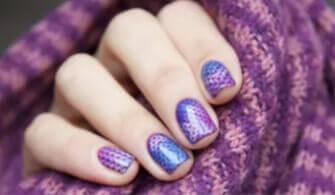 sticker nails design